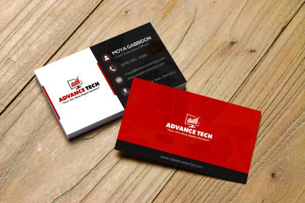 Advance Tech Business Card
